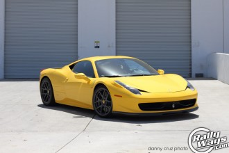 Ferrari 458 Italia Giallo Modena