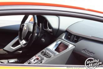 Lamborghini Aventador Dash