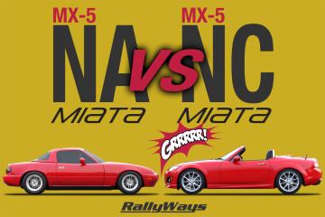 NA Miata vs NC Miata