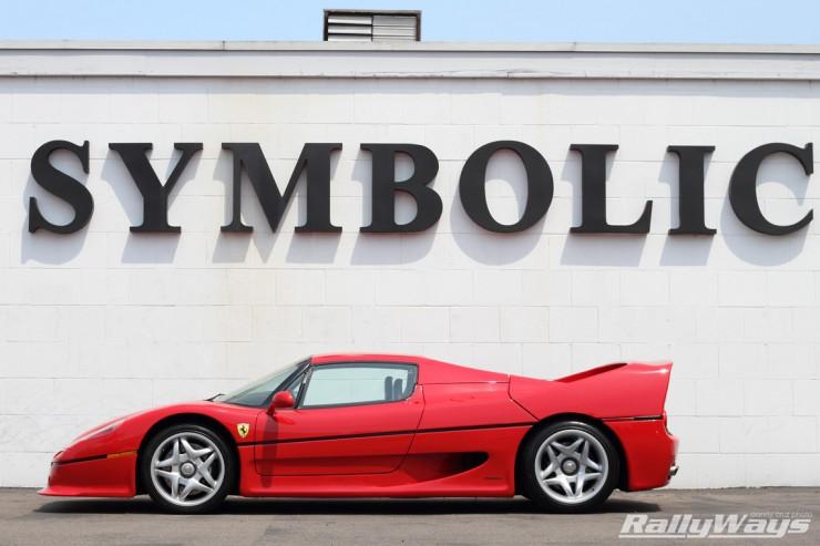 Ferrari F50 Cover