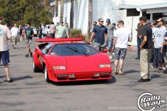 Lamborghini Countach Entering 1