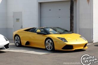 Yellow Murcielago Roadster