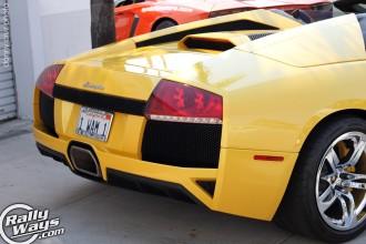 Murcielago Roadster Rear