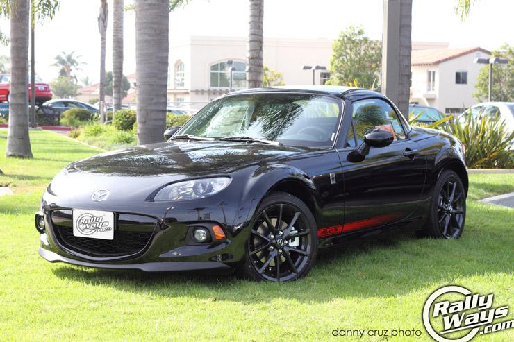 Mazda MX-5 Miata Black 2013