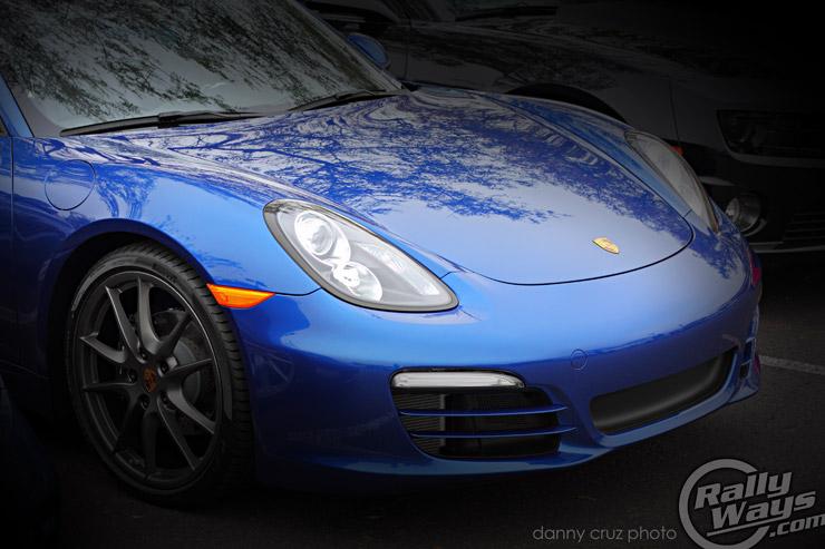 Porsche Boxster 2013 981 Aqua Blue