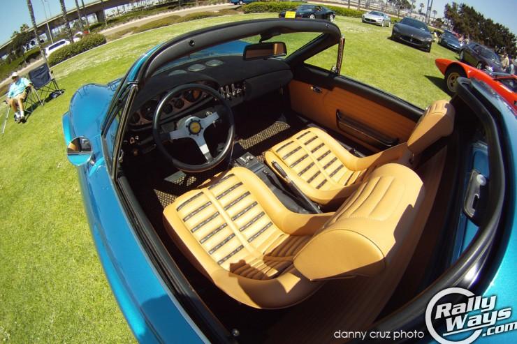 Ferrari 246 Dino GTS Interior
