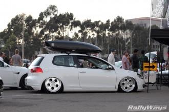 Slammed VW GTI
