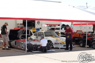 Vintage Racing Paddock