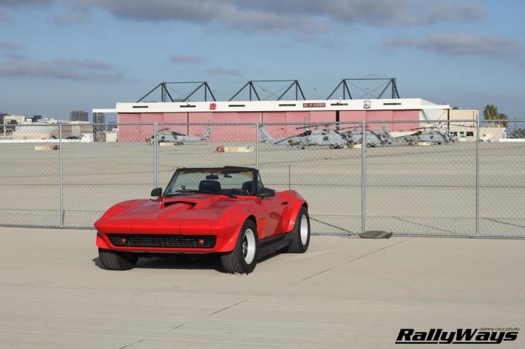 Vintage Hot Rod Corvette