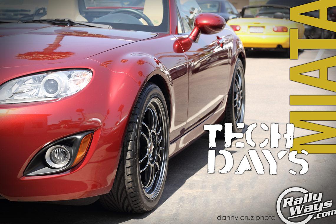 Rocky's Miatomotive Goodwin Racing Mazda Miata Tech Days