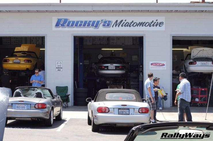 Rocky's Miatomotive Tech Day