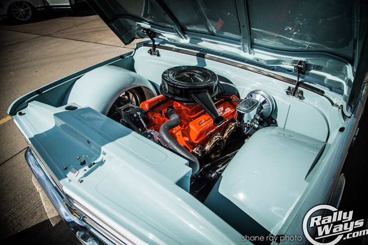 Vintage Chevy Truck Engine Bay