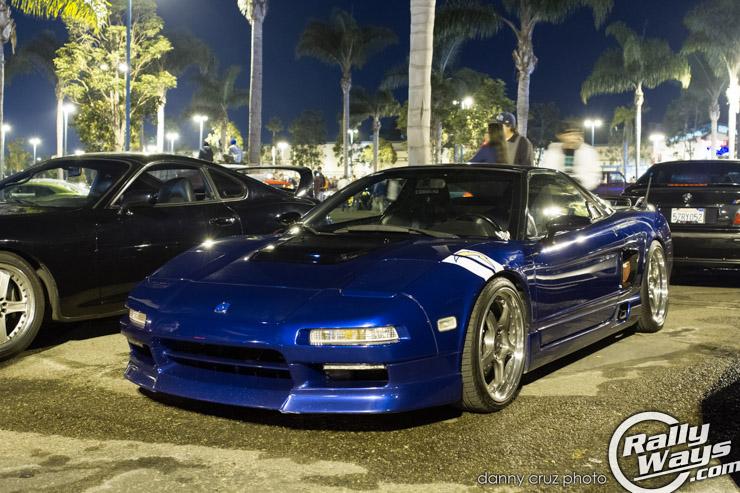 Blue Bat Acura NSX