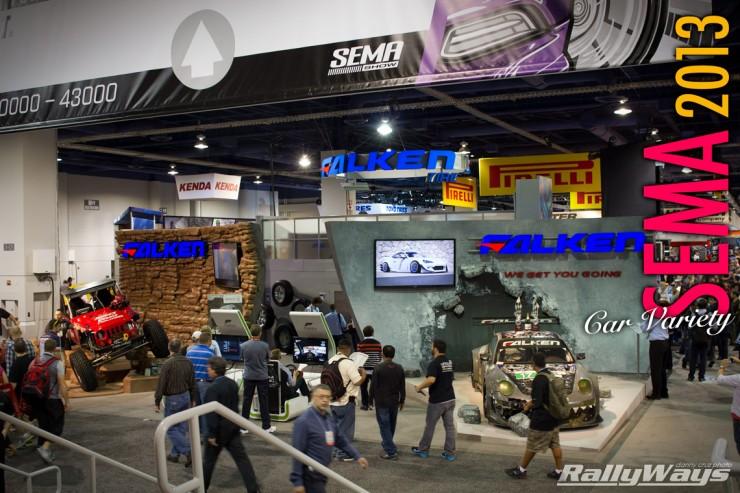 SEMA Show 2013 Car Variety