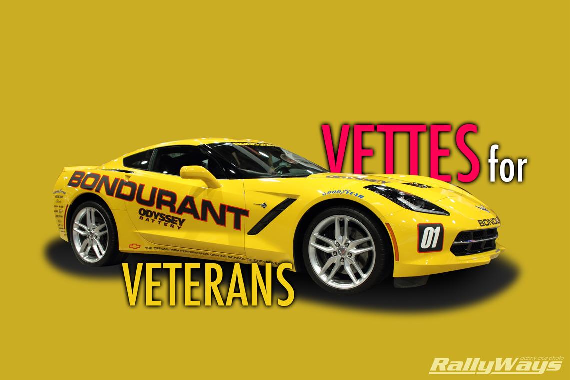 Vettes for Veterans San Diego All Corvette Car Show Event