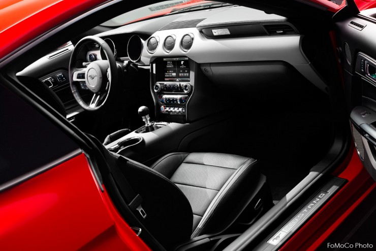 2015 Ford Mustang Interior Wide