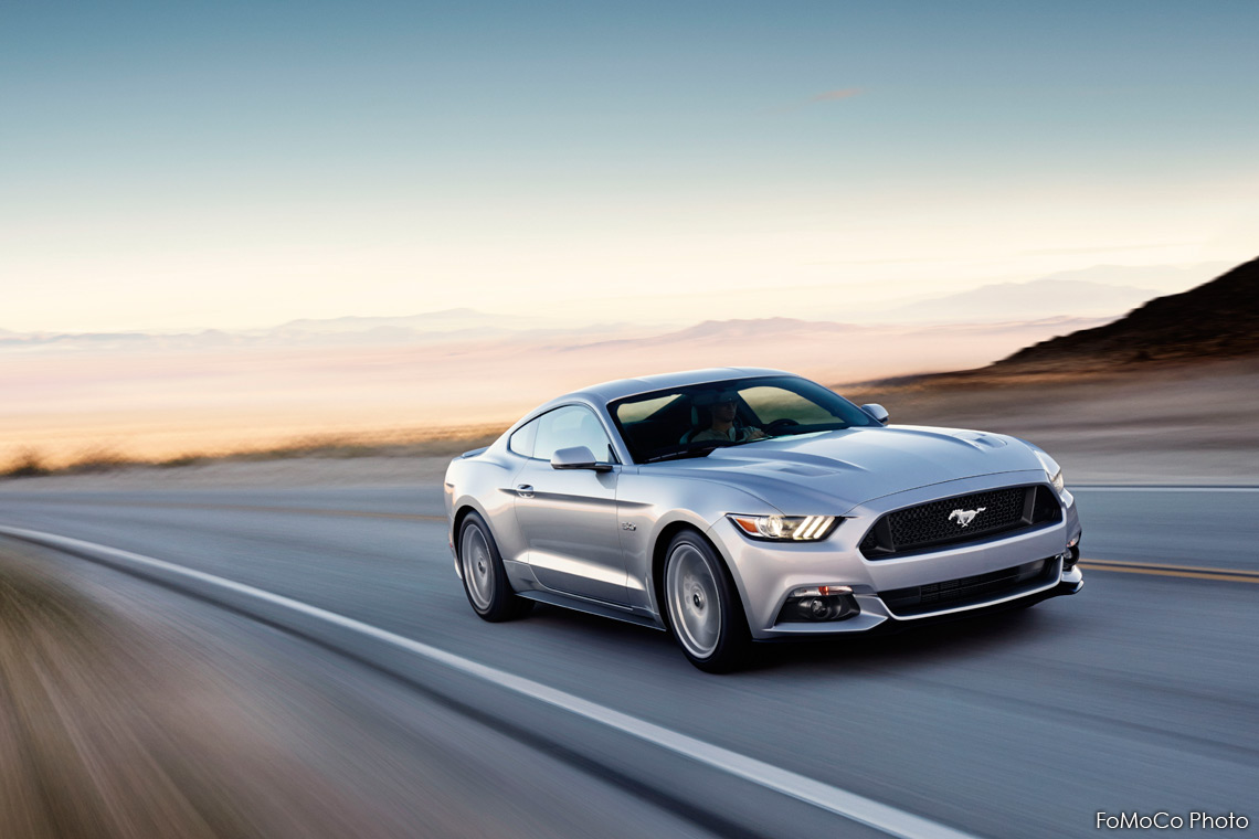 Mustang Still Looks Retro – 2015 Ford Mustang Reveal