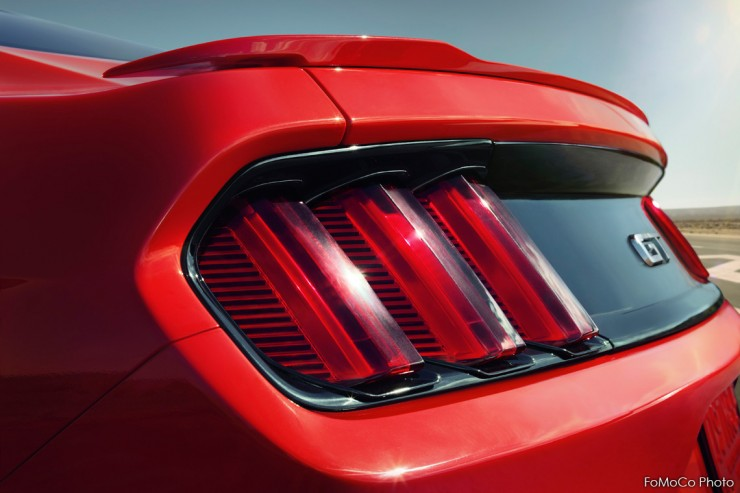 2015 Ford Mustang Tail Lights
