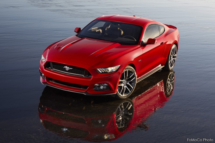 2015 Red Ford Mustang 5.0