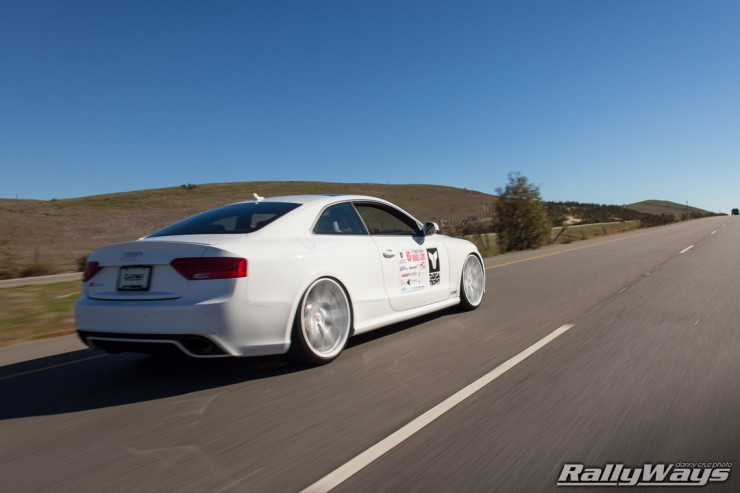 Tag Motorsports Audi RS5 on White HRE Wheels
