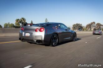 Nissan GTR Rolling Shot