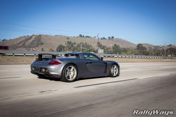 Rolling Shot Porsche Carrera GT