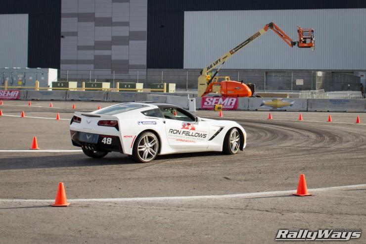 C7 Corvette Autocross Ron Fellows