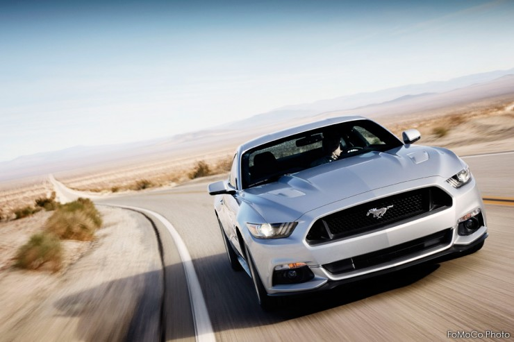 Ford Mustang 2015 Front Shot