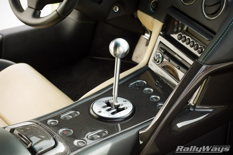 Lamborghini Murcielago Gated Stick Shift