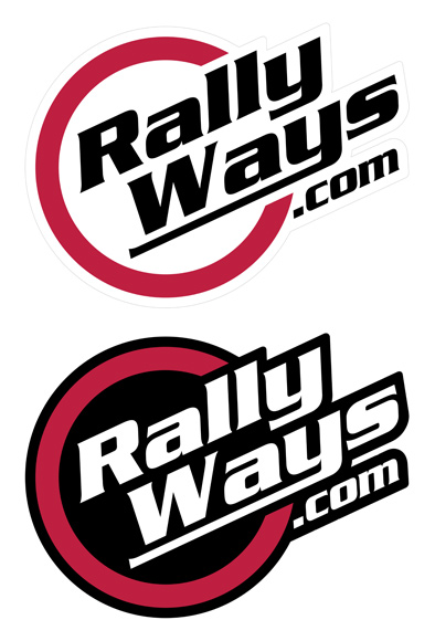 RallyWays Stickers Samples