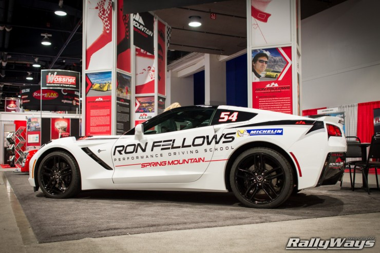 Ron Fellows C7 Corvette