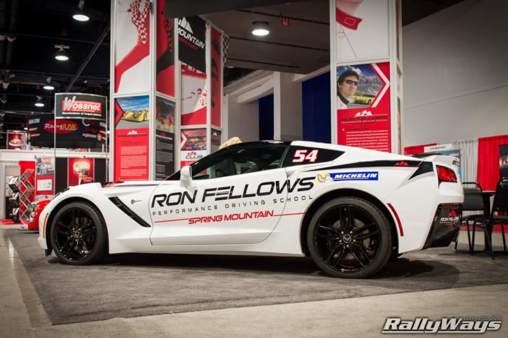 Ron Fellows C7 Corvette