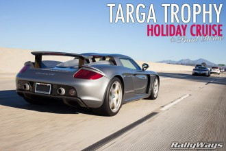 Targa Trophy Road Rally Holiday Cruise Photos