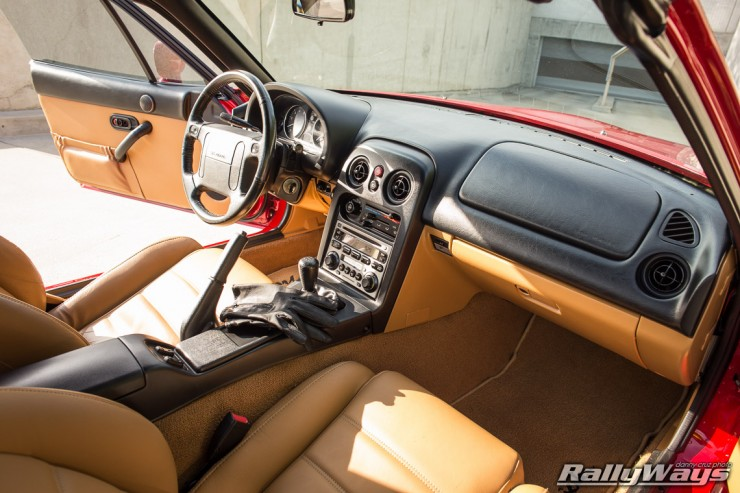 1995 Miata Tan Interior