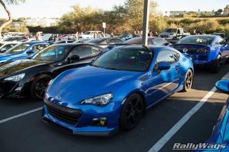 Blue WR Pearl Subaru BRZ