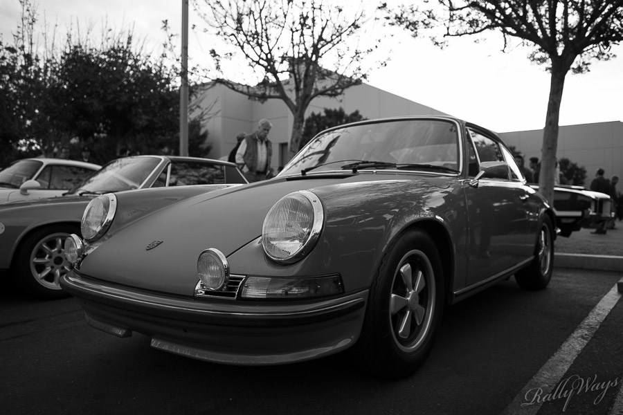 Early Porsche 911 in Black and White