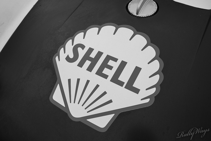 Shell Gasoline Badge