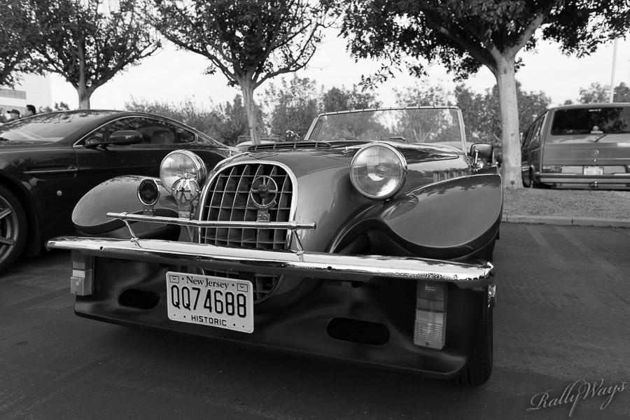 Classic Jaguar Roadster