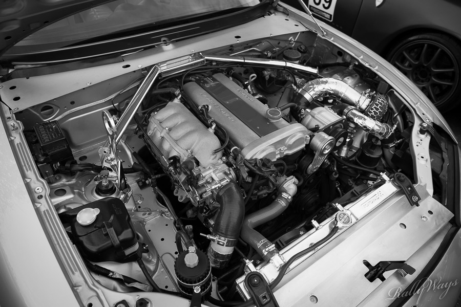 Supercharged Miata NB Engine