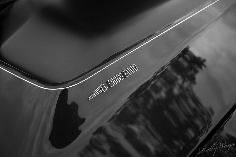 Corvette 468 Hood