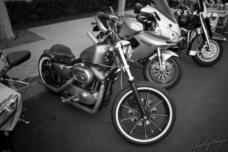 Bikes at Cars and Coffee