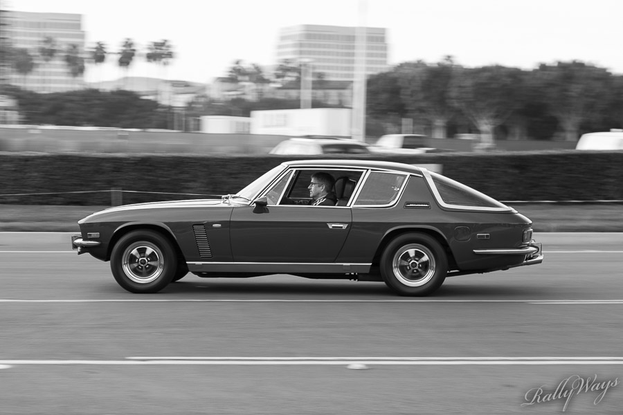 Jensen Interceptor in Black and White