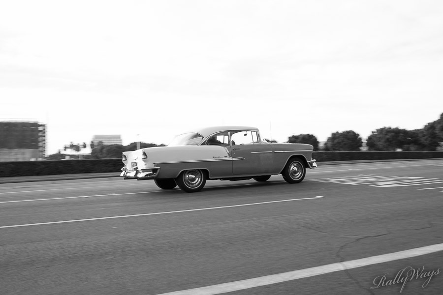 Classic Chevy in Black and White