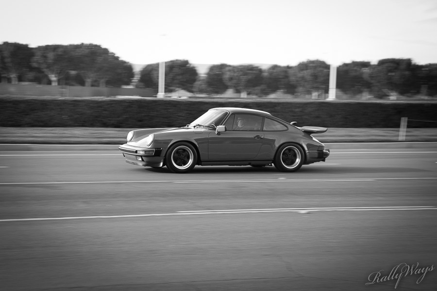 Porsche 911 in Black and White
