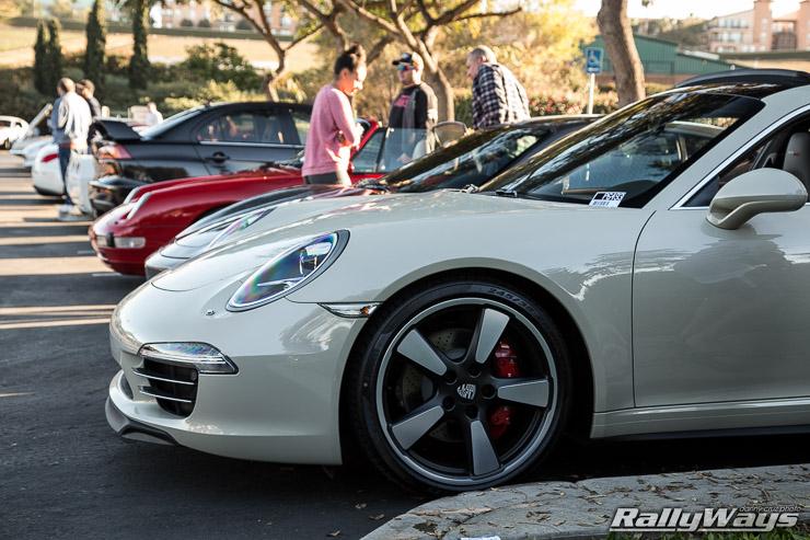 Porsche 911 50 Anniversary Wheels