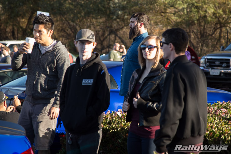 People at Cars and Coffee