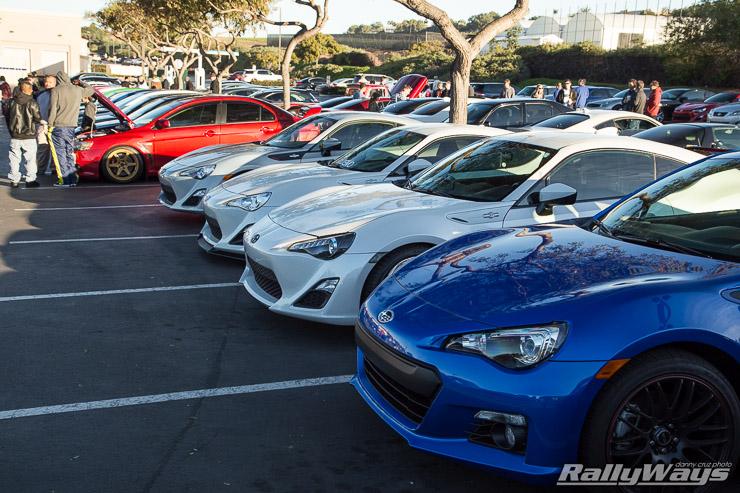 Various Scion FRS and Subaru BRZ