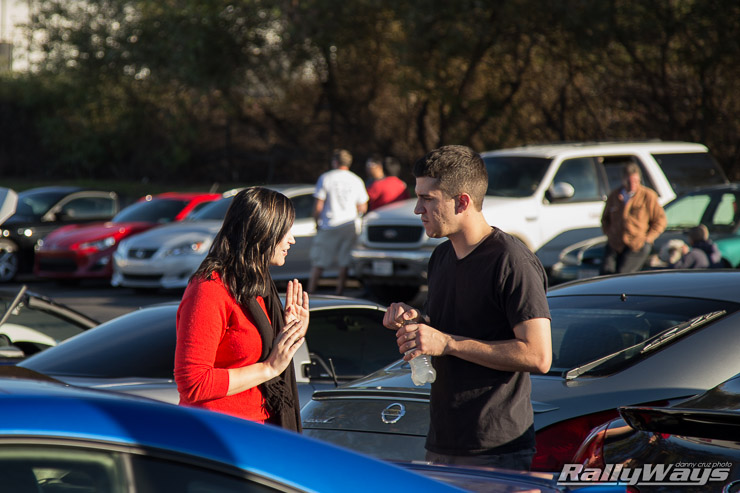 Car Show Chatting