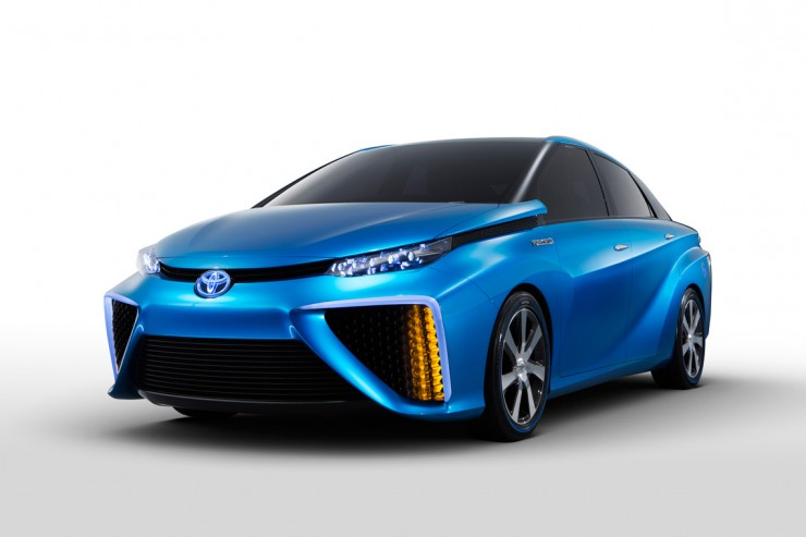 CES Toyota Fuel Cell Vehicle Concept