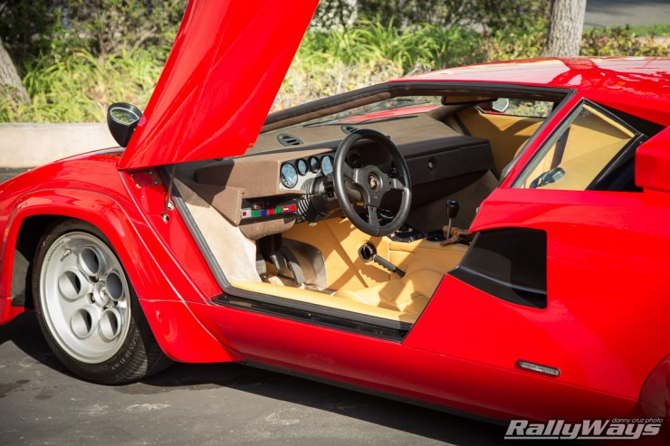 Lamborghini Countach Interior